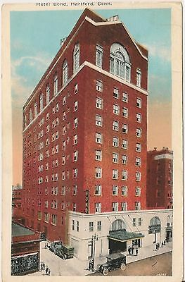 Hotel Bond Hartford Connecticut Postcard