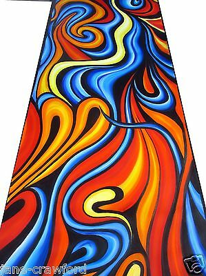 Huge original abstract canvas  Modern Art By Jane Crawford COA  Australia
