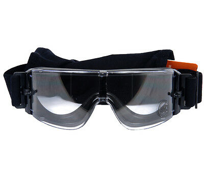 LANCER TACTICAL AIRSOFT FRAMELESS CLEAR SAFETY GOGGLES Googles Glasses Eye Wear