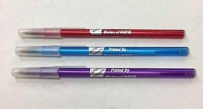 Custom Personalized Translucent Stick Pens Pkg of 100 Great Promotional Item