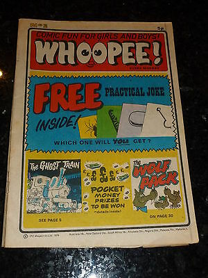 WHOOPEE! Comic - Issue No 2 - Date 1974 - UK Paper Comic