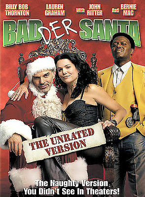 Bad Der Santa (DVD, 2004, Badder Santa: The Unrated Version)  PREVIOUS RENTAL G