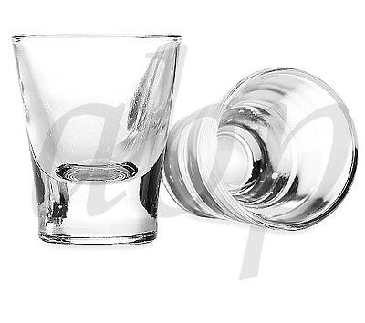 Glass Shot Glass-2.25oz-(6)-Italy-Shooters-Classic Shots-Brand NEW-Gift Boxed