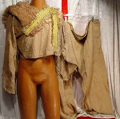 Planet Of The Apes 2001 Movie Prop Civilian Costume W  Pants  Wardrobe With Coa
