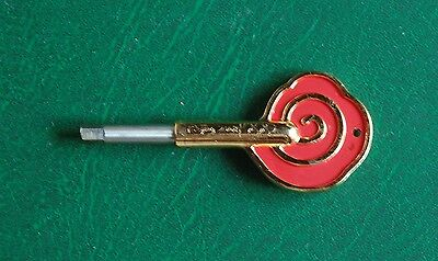 2008 Beijing Olympic Torch KEY (light the torches)  VERY RARE