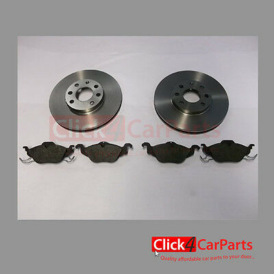 Vauxhall Astra G MK4 1998-2004 Front Brake Discs and Pads