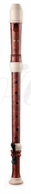 Ferris 600T Woodgrain Effect & Ivory Tenor Recorder With case & Chart