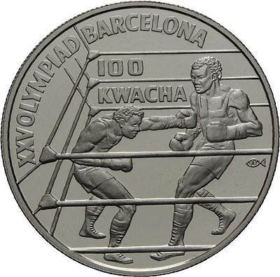 1980 Zambia Large Silver Proof 10 Kwacha-Year of the Child