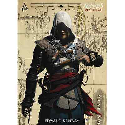 Assassin'S Creed Iv 4 Black Flag Edward Kenway Figure Poster 70X100 MEDIOEVO