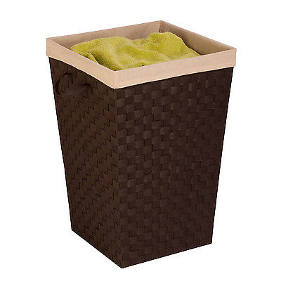 Honey Can Do HMP-03057 Woven Strap Hamper with Liner