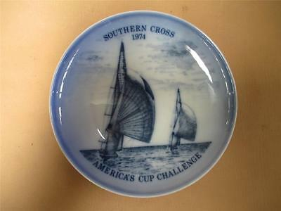 Bing and Grondahl, porcelain wall plate, America's Cup Challenge