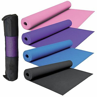 Yoga Exercise Fitness Workout Mat Pilates Festivals Camping Gym Quality Non Slip