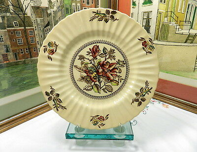 """WADE ENGLAND HEDGEROW 10 3/4"""" FLORAL PLATE"""