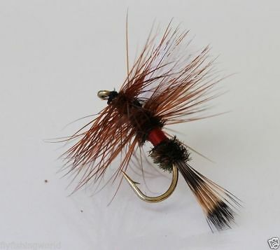 12 x Royal Wulff TROUT FLIES for fishing rod