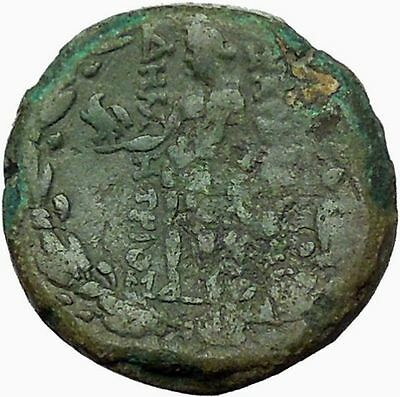 Sardes in Asia Minor 133BC Ancient Greek Coin Nude Apollo Young Hercules i34823