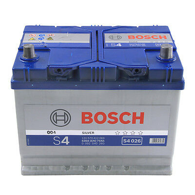 12V 70Ah Type 800 760CCA 3 Years Wty Sealed OEM Replacement Bosch Car Battery