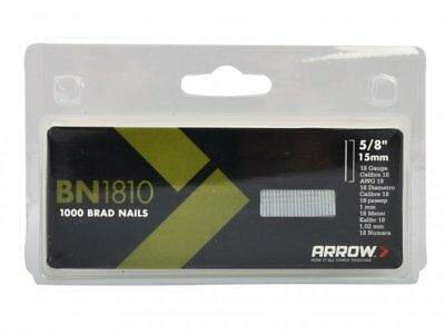 Arrow BN1810 Brad Nails Pack 500