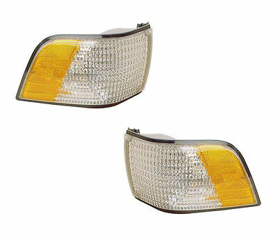 PAIR of Corner Lights - Driver & Passenger Sides - Fits 1991-1996 Buick Century