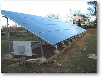6.68 KW TURNKEY DIY GROUND MOUNT , Solar Power for a House,