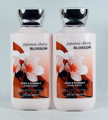 2 Bath & Body Works JAPANESE CHERRY BLOSSOM Body Lotion / Hand Cream