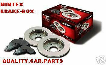 Ford Mondeo Mk3 Mintex Rear Brake Discs And Pads