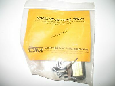 Challenge Tool and Manufacturing MK-15P Panel Punch