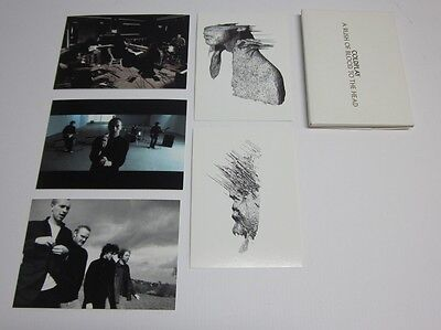 Coldplay - A Rush Of Blood To The Head * set of 5 rare promo postcards *