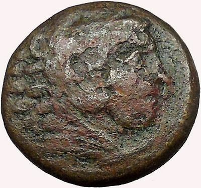 Alexander III the Great 336BC Ancient Greek Coin Hercules Bow Club  i33640