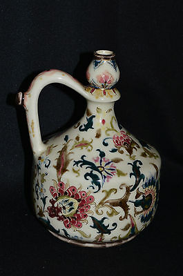 Antique Zsolnay Jug - Hungarian 19th Century