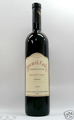 Greenock Creek Roennfeldt Road Shiraz 1999 Red Wine