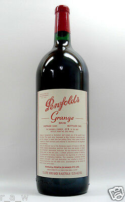 Penfolds Grange Shiraz 1990 Magnum Red Wine