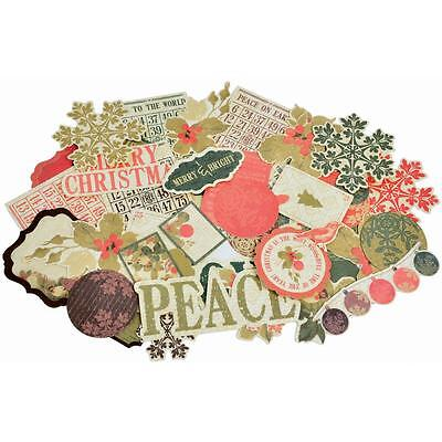 KaiserCraft Christmas Die Cut Embellishments 50/pkg