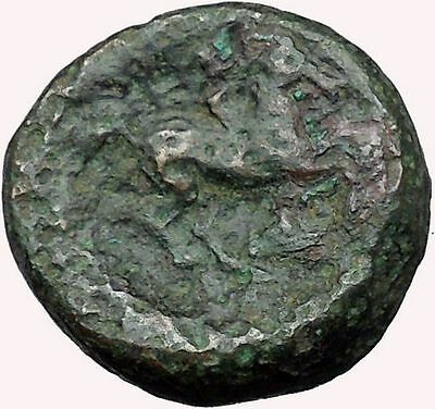Philip II Alexander the Great Dad OLYMPIC GAMES Ancient Greek Coin Horse i33643