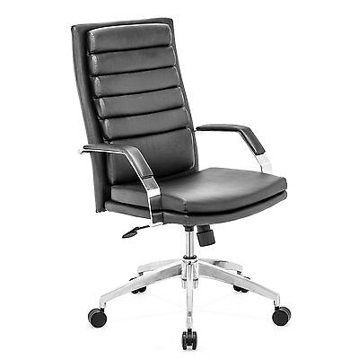 Black Leatherette-Zuo Modern 20532 Director Comfo