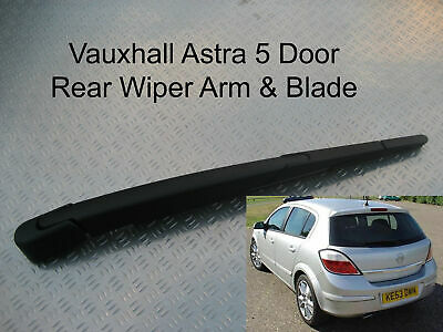 Rear Wiper Arm Blade Vauxhall Astra 5Dr Hatchback 2004 2005 2006 2007 2008 2009