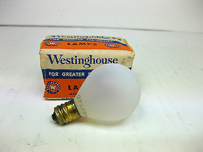 vintage 260-50 Frosted lamp bulb new