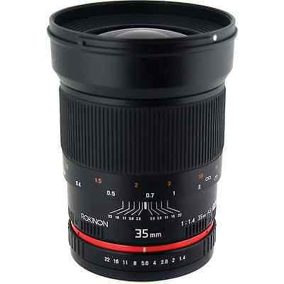 Rokinon 35mm f/1.4 Wide-Angle US UMC Aspherical Lens for Pentax
