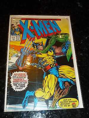 The X-MEN Comic - Collector's Edition - Vol 1 - No 2 - Date 1993 - MARVEL Comic