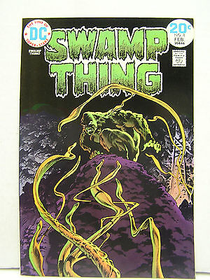 Swamp Thing  #8  DC Comic Book-Wrightson-  Hi Grade 1970s (L8104)