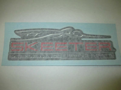 """Skeeter Boats Decal 9"""" for Car or Boat, Same as Used on Skeeter Boats!"""