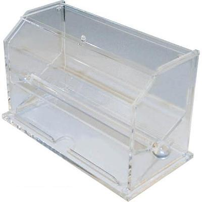 Winco - ACSD-712 - Clear Straw Dispenser