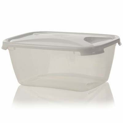 LARGE STRONG PLASTIC Food Grade Storage Container Microwave Safe 6