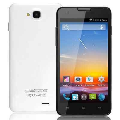 "SWEES 5.0"" Dual Core Android 4.2 Mobile Phone Smartphone Unlocked Touch 4.1 GPS"