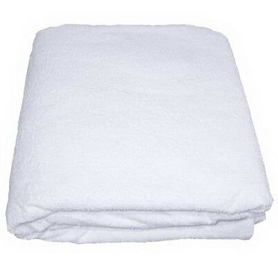 Single Size Waterproof Terry Towel Washable Mattress Protector Wet Sheet Cover
