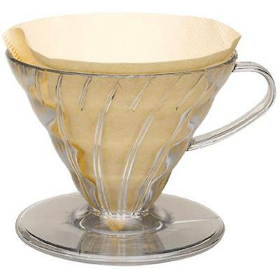 Hario V60 Plastic Coffee Dripper - Pour Over Brewer