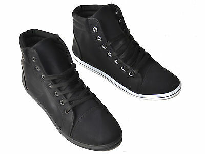 Mens Casual Lace High Top Ankle Boots Sneakers Winter Loafers Shoes Sam-01A