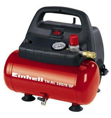 Compressore Aria Portatile Einhell Th-Ac 190/6 Of  Litri 6