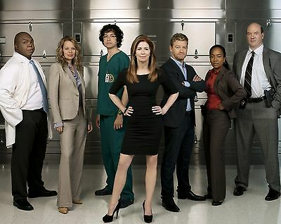 Body Of Proof CAST / Dana Delany 8 x 10 / 8x10 GLOSSY Photo Picture