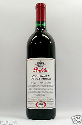 Penfolds Bin 920 Cabernet Shiraz 1990 Red Wine