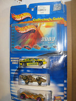 2003 COLLECTOR GUIDE HOT WHEELS HIGHWAY 35TH ANNIVERSARY B